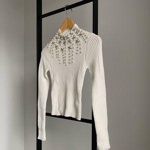 ASOS Embellished Sweater Top